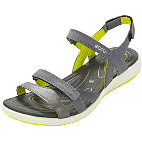 ECCO Cruise II Sandals Women Dark Shadow/Magnet/Sulphur